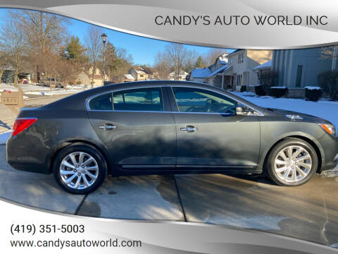 2015 Buick LaCrosse for sale at Candy's Auto World Inc in Toledo OH