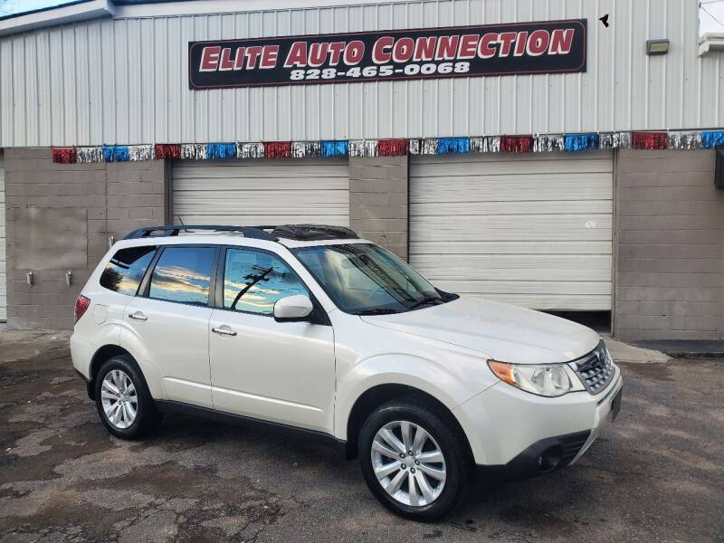 2012 Subaru Forester for sale at Elite Auto Connection in Conover NC