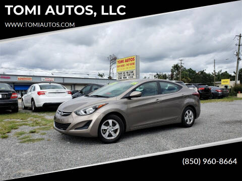 2015 Hyundai Elantra for sale at TOMI AUTOS, LLC in Panama City FL