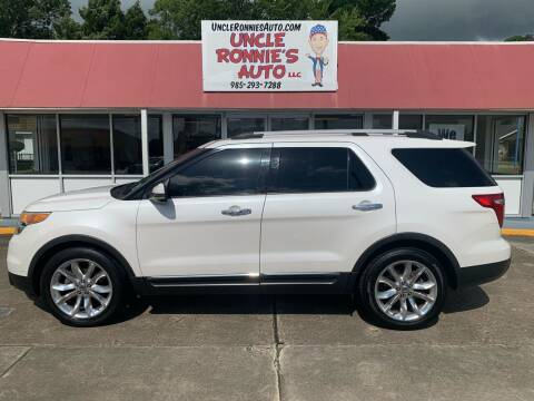 2011 Ford Explorer for sale at Uncle Ronnie's Auto LLC in Houma LA