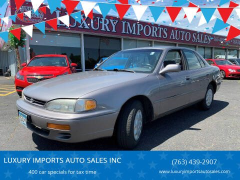 1998 Toyota Camry for sale at LUXURY IMPORTS AUTO SALES INC in North Branch MN
