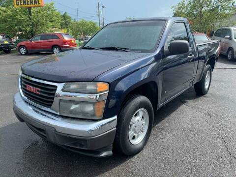 2007 GMC Canyon for sale at Diana Rico LLC in Dalton GA