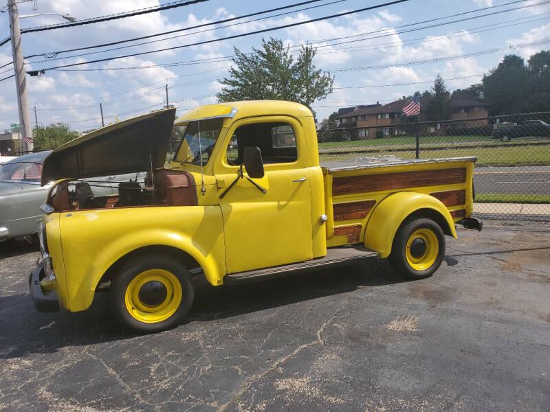 1948 Dodge D100 Pickup for sale at C & C AUTO SALES in Riverside NJ
