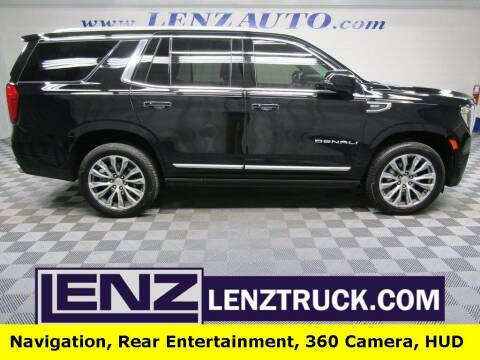 2021 GMC Yukon for sale at LENZ TRUCK CENTER in Fond Du Lac WI
