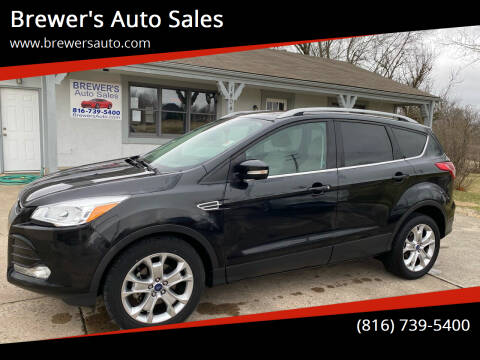 2014 Ford Escape for sale at Brewer's Auto Sales in Greenwood MO