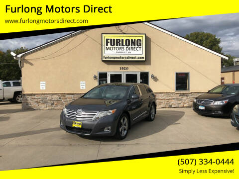 2010 Toyota Venza for sale at Furlong Motors Direct in Faribault MN