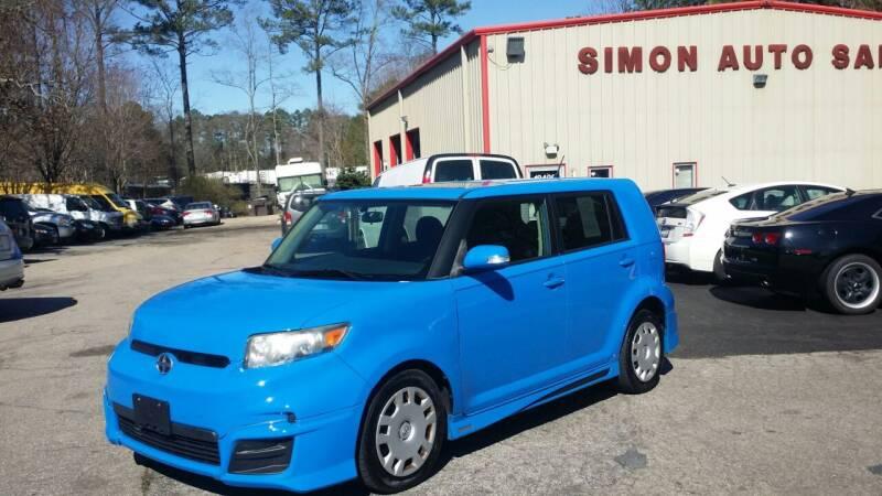 2011 Scion xB for sale at Simon's Auto Sales in Clayton NC