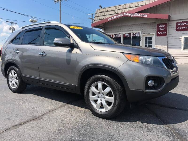 2012 Kia Sorento for sale at The Auto Store in Griffith IN