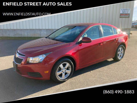 2011 Chevrolet Cruze for sale at ENFIELD STREET AUTO SALES in Enfield CT