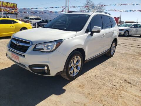 2018 Subaru Forester for sale at Bickham Used Cars in Alamogordo NM