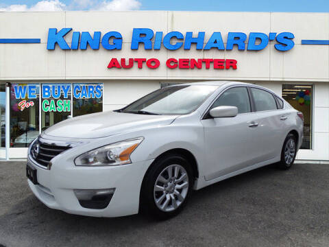 2014 Nissan Altima for sale at KING RICHARDS AUTO CENTER in East Providence RI