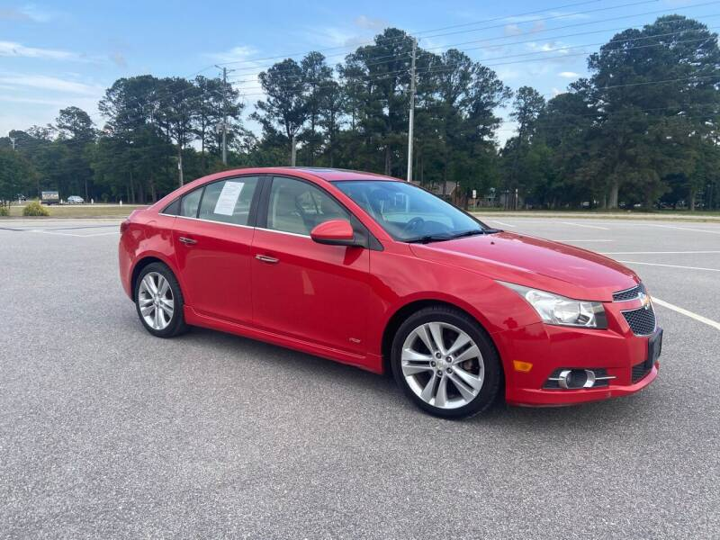 2012 Chevrolet Cruze for sale at Carprime Outlet LLC in Angier NC