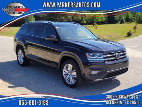 2019 Volkswagen Atlas for sale at Parker's Used Cars in Blenheim SC