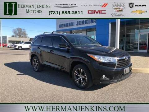 2016 Toyota Highlander for sale at Herman Jenkins Used Cars in Union City TN