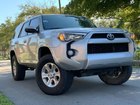 2015 Toyota 4Runner for sale at HIGH PERFORMANCE MOTORS in Hollywood FL