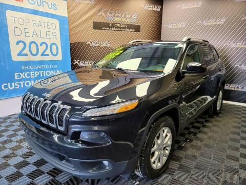 2015 Jeep Cherokee for sale at X Drive Auto Sales Inc. in Dearborn Heights MI