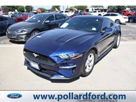 2018 Ford Mustang for sale at South Plains Autoplex by RANDY BUCHANAN in Lubbock TX