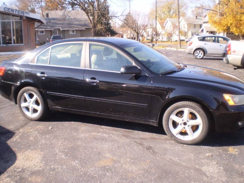 2006 Hyundai Sonata for sale at Toledo Auto Finance Center in Toledo OH