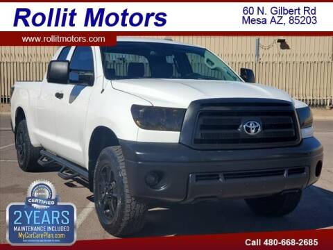 2010 Toyota Tundra for sale at Rollit Motors in Mesa AZ