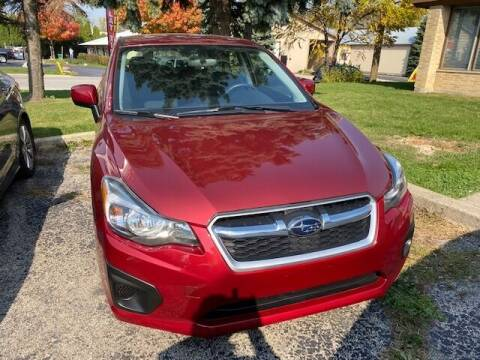 2013 Subaru Impreza for sale at NORTH CHICAGO MOTORS INC in North Chicago IL