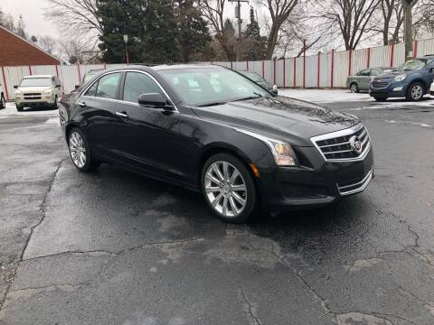 2014 Cadillac ATS for sale at NUMBER 1 CAR COMPANY in Detroit MI