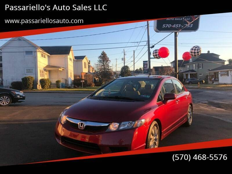 2011 Honda Civic for sale at Passariello's Auto Sales LLC in Old Forge PA