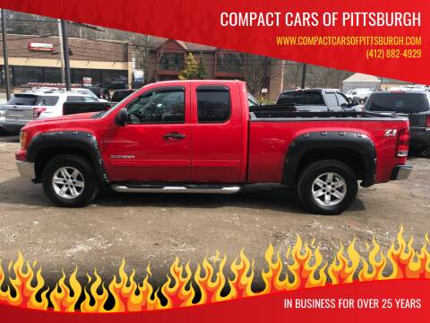 2010 GMC Sierra 1500 for sale at Compact Cars of Pittsburgh in Pittsburgh PA