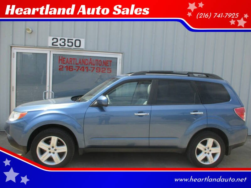 2010 Subaru Forester for sale at Heartland Auto Sales in Medina OH