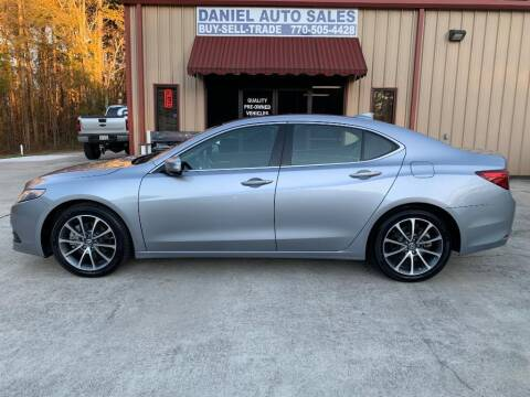 2015 Acura TLX for sale at Daniel Used Auto Sales in Dallas GA