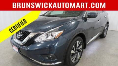 2018 Nissan Murano for sale at Brunswick Auto Mart in Brunswick OH