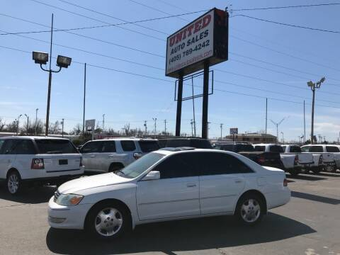 2004 Toyota Avalon for sale at United Auto Sales in Oklahoma City OK