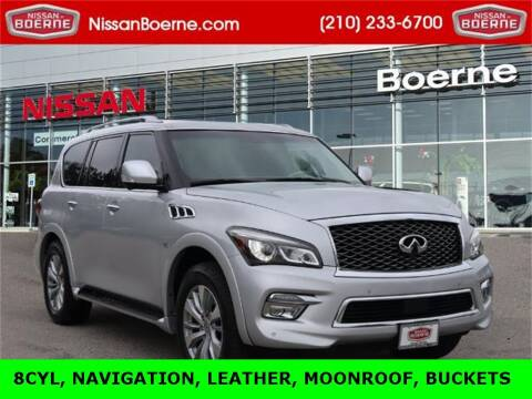 2016 Infiniti QX80 for sale at Nissan of Boerne in Boerne TX
