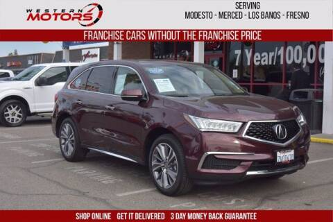 2017 Acura MDX for sale at Choice Motors in Merced CA