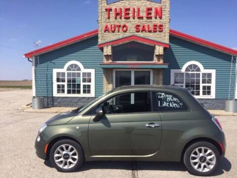 2017 FIAT 500 for sale at THEILEN AUTO SALES in Clear Lake IA