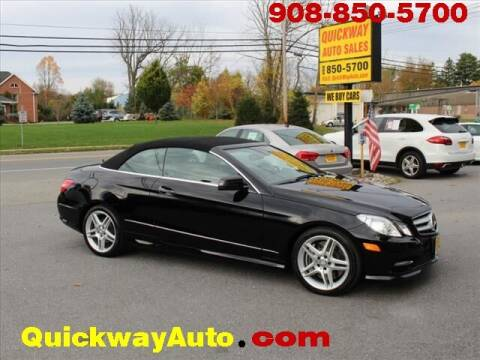 2013 Mercedes-Benz E-Class for sale at Quickway Auto Sales in Hackettstown NJ
