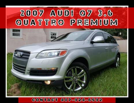 2007 Audi Q7 for sale at AFFORDABLE ONE LLC in Orlando FL