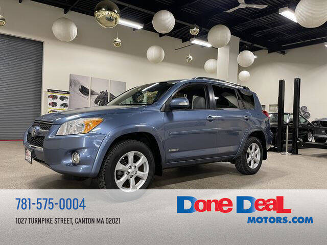 2012 Toyota RAV4 for sale at DONE DEAL MOTORS in Canton MA
