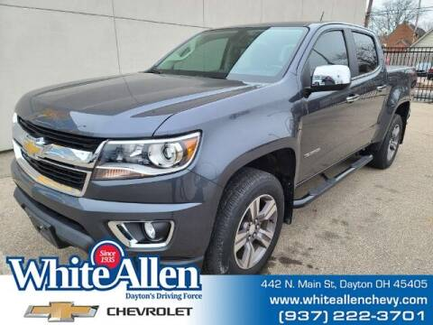 2017 Chevrolet Colorado for sale at WHITE-ALLEN CHEVROLET in Dayton OH