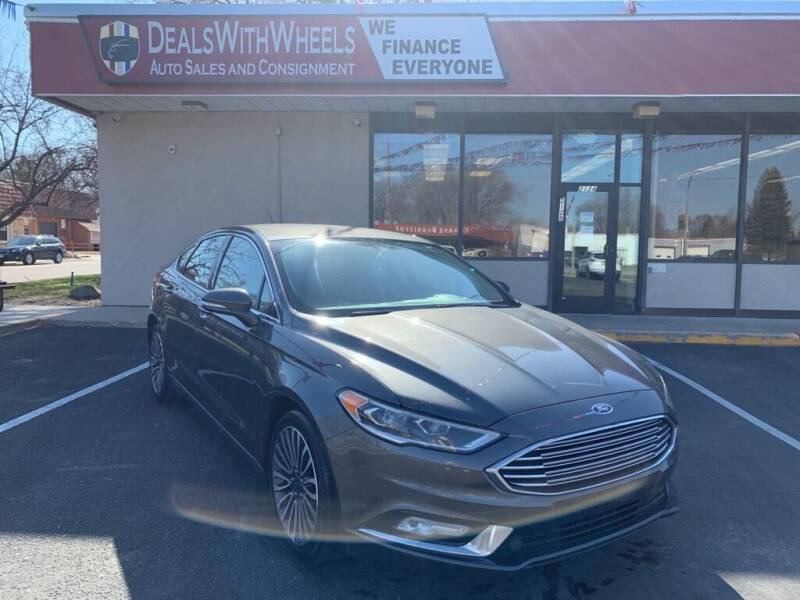 2017 Ford Fusion for sale at Dealswithwheels in Inver Grove Heights/Hastings MN
