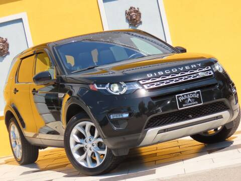 2018 Land Rover Discovery Sport for sale at Paradise Motor Sports LLC in Lexington KY