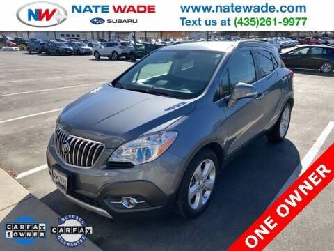 2015 Buick Encore for sale at NATE WADE SUBARU in Salt Lake City UT