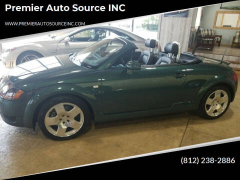 2001 Audi TT for sale at Premier Auto Source INC in Terre Haute IN