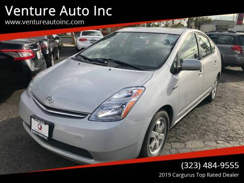 2007 Toyota Prius for sale at Venture Auto Inc in South Gate CA