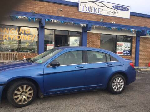2007 Chrysler Sebring for sale at Duke Automotive Group in Cincinnati OH