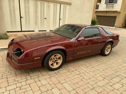 1986 Chevrolet Camaro for sale at California Motor Cars in Covina CA