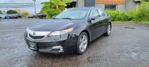2014 Acura TL for sale at Persian Motors in Cornelius OR