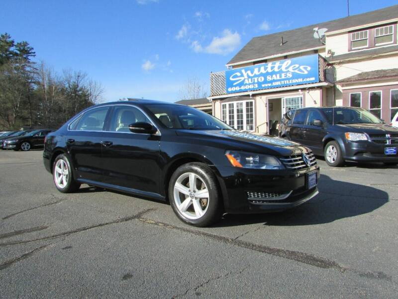 2012 Volkswagen Passat for sale at Shuttles Auto Sales LLC in Hooksett NH