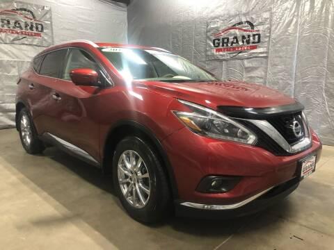 2018 Nissan Murano for sale at GRAND AUTO SALES in Grand Island NE