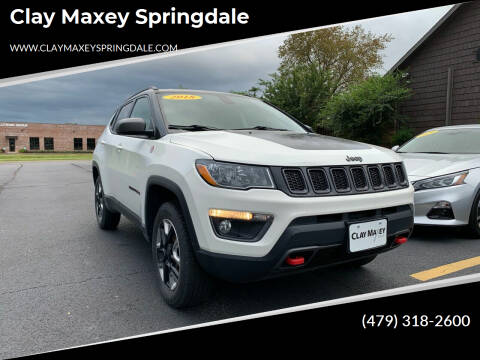 2018 Jeep Compass for sale at Clay Maxey Springdale in Springdale AR