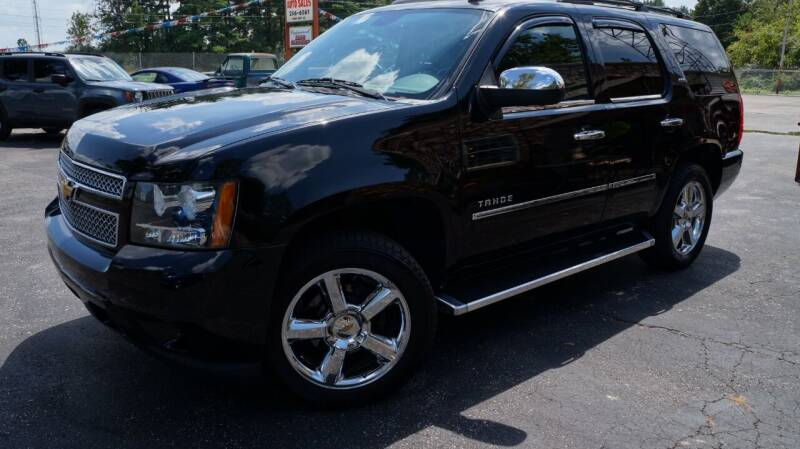 2013 Chevrolet Tahoe for sale at G & R Auto Sales in Charlestown IN